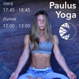 tento týden se nekoná kurz Paulus jóga