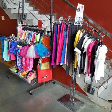 Naskladnili jsme pestrou paletu gymnastického oblečení a doplňků